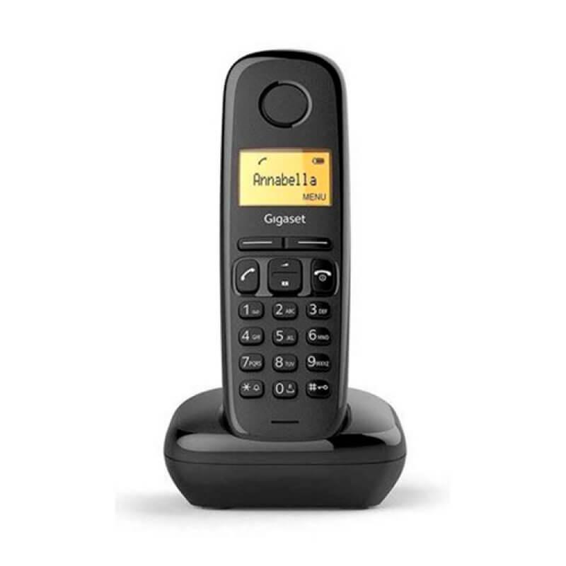 Telefone Sem Fios Siemens Gigaset A170 Preto