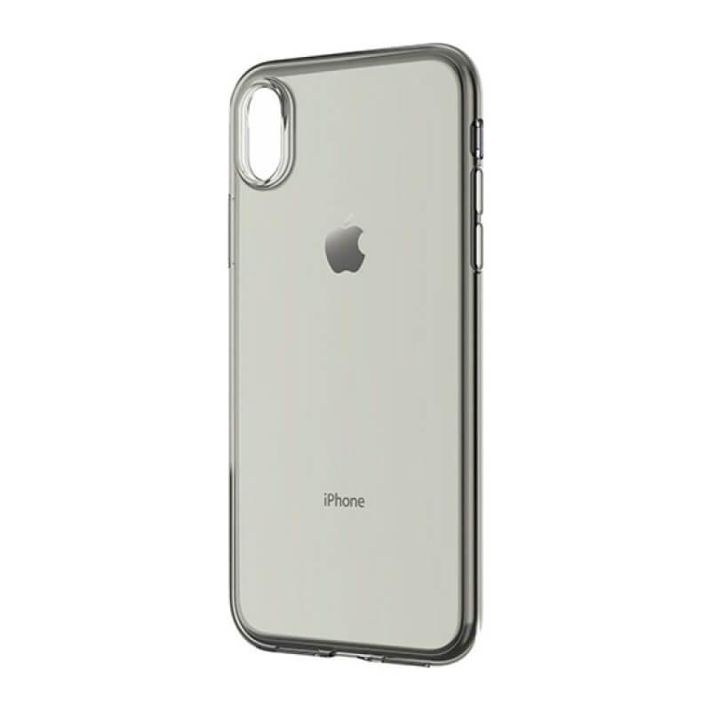 TPU Case Devia iPhone Xs Max Transparente/Preto