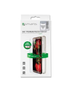 Vidro temperado + capa clear 4Smarts Samsung S9+ G965 - Transparente
