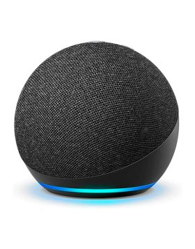 Amazon Echo Dot 4ª Geração Coluna Inteligente Alexa Preto