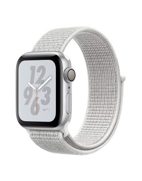 Apple Watch Nike+ Series 4 40mm GPS - Silver Aluminium Case Summit White Nike Sport Loop
