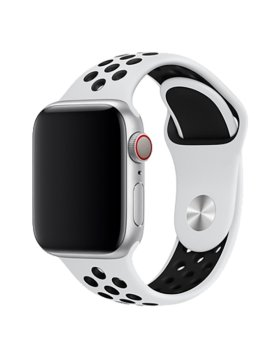 Bracelete Apple Watch 40mm Deluxe Devia Sport2 Band - Branco