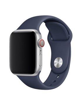 Bracelete Apple Watch 44mm Deluxe Devia Sport Band - Azul Meia-Noite