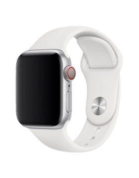 Bracelete Apple Watch 44mm Deluxe Devia Sport Band - Branco
