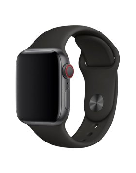 Bracelete Apple Watch 44mm Deluxe Devia Sport Band - Preto