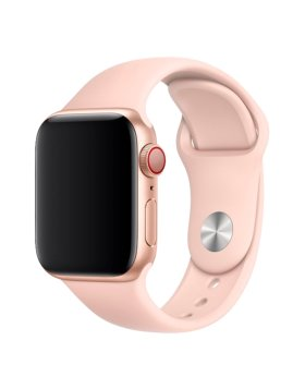 Bracelete Apple Watch 40mm Deluxe Devia Sport Band - Rosa Areia