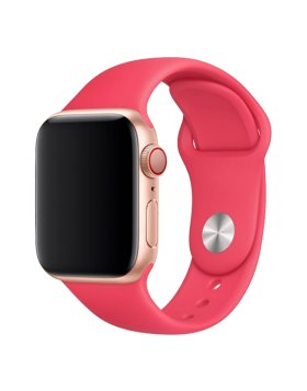 Bracelete Apple Watch 40mm Deluxe Devia Sport Band - Vermelho