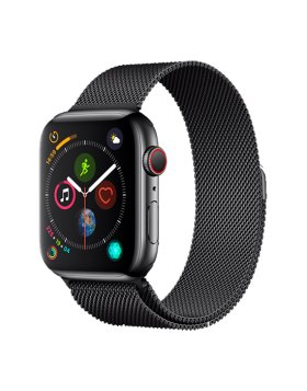 Bracelete Apple Watch 44mm Elegant Devia Milanese Loop - Cinzento Sideral
