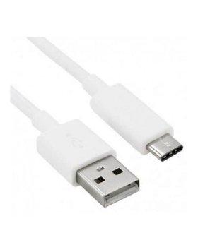 Cabo USB Type-C 1 Metro - Branco