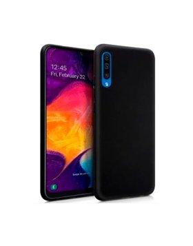 Silicone Cover Samsung Galaxy A50 - Preto