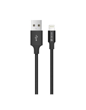 Pheez Devia USB/Lightning Cable Apple iPhone 1 Metro - Preto