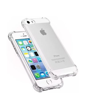 Capa silicone anti choque Apple iPhone 5/5S/SE - Transparente