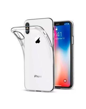 Capa silicone iPhone xs max - Transparente