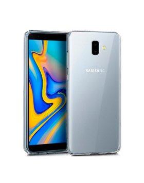 Capa silicone Samsung J6+ J610 - Transparente