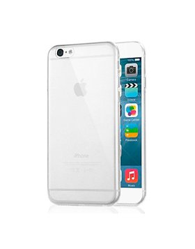 Capa silicone iPhone 6S - Transparente