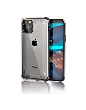 Capa Defender 2 Devia iPhone 11 Pro - Silver Translúcido