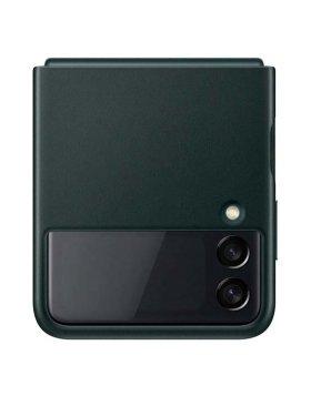 Capa Pele Samsung Galaxy Z Flip3 F926 Verde