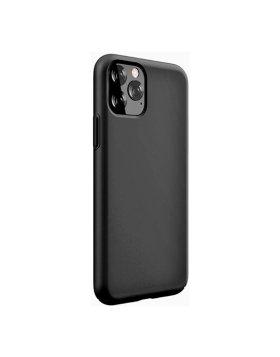 Capa Silicone Devia iPhone 11 Pro Max - Preto