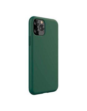 Capa Silicone Devia iPhone 11 Pro Max - Verde