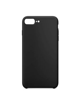 Capa silicone iPhone 7 Plus / 8 Plus - Preto