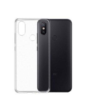 Capa silicone Xiaomi Mi A2 Lite - Transparente