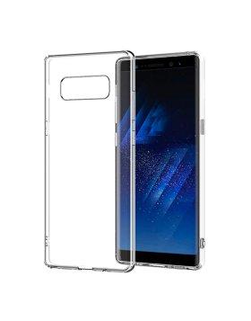 Capa silicone Samsung Note 8 N950 - Transparente