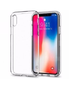 Capa silicone iPhone X | Xs - Transparente
