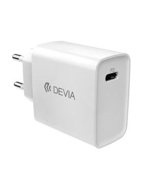Devia Smart PD Quick Charger (EU,20W) - Branco
