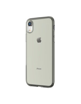 Case Devia TPU iPhone Xr - Transparente/Preto