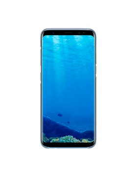 Clear Cover Samsung S8 Plus G955 - Blue