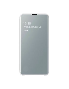 Clear View Cover Samsung Galaxy S10e G970 - Branco