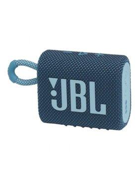 Coluna Portátil JBL GO 3 Bluetooth 4.2W Azul