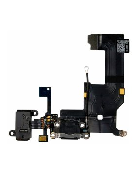 Conetor Carga / Microfone iPhone SE - Branco