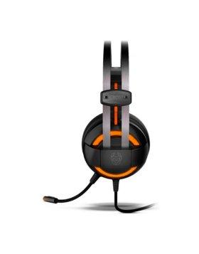 Headset Gaming Nox Krom Kode 7.1 Virtual Preto