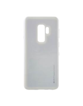 Silicone Mercury i-Jelly Samsung S9+ G965 - Silver