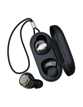 Earphones Joypods Devia TWS Wireless Earphone V2 - Preto