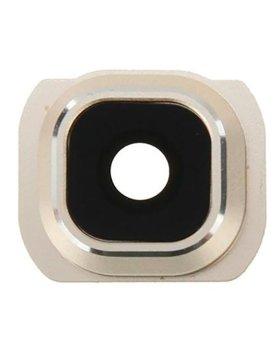 Lente camera Traseira Samsung S6 G920 - Gold