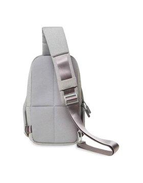 "Mochila Xiaomi Mi City Sling Bag 9"" - Cinza Claro"