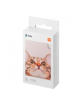 "Papel Fotográfico Xiaomi Mi Portable Photo Printer Paper (2x3"", 20 folhas)"