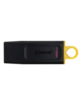 Pen Drive Kingston DataTraveler Exodia 128GB USB 3.2 Preta