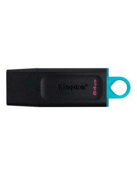 Pen Drive Kingston DataTraveler Exodia 64GB USB 3.2 Preta