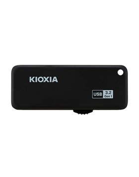 Pen Drive Kioxia TransMemory U365 256GB USB 3.2 Preta