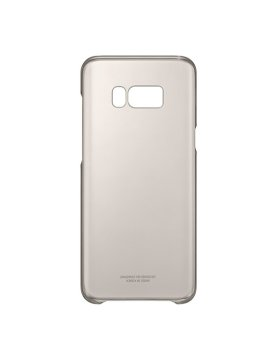 Clear Cover Samsung S8 Plus G955 - Gold