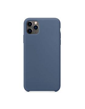 Silicone Cover iPhone 11 Pro Max - Azul