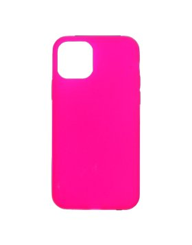 Silicone Cover iPhone 11 - Rosa