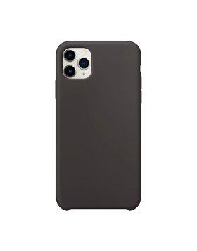 Silicone Cover iPhone 11 Pro Max - Preto