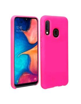 Capa Silicone Samsung Galaxy A20e - Rosa