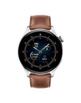 Smartwatch Huawei Watch 3 Classic Stainless Steel Castanho