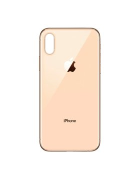 Tampa Traseira Vidro Apple iPhone XS Dourado