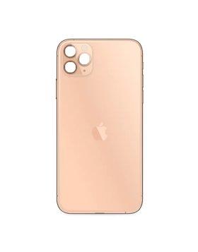 Tampa Traseira Vidro Apple iPhone 11 Pro Max Dourado